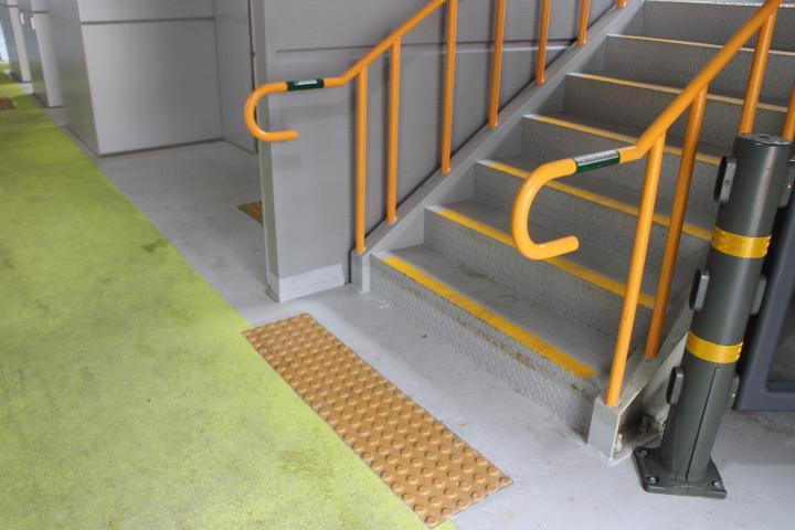 건물 내 장애인 편의시설이 설치된 모습.ⓒ에이블뉴스DB